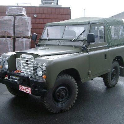Land-rover 88 stationwagon