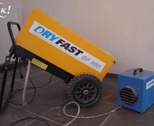 Bouwdroger Dry Fast DF 800