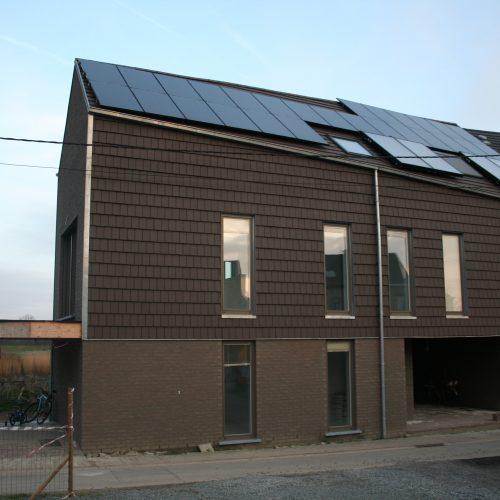 2 Nieuwbouw woningen Scheldehoek te Wichelen
