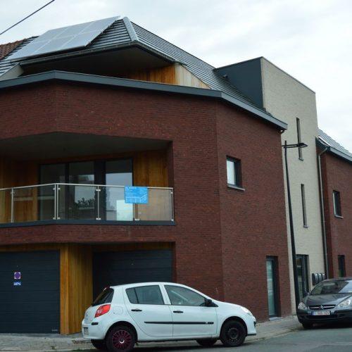 3 Nieuwbouwappartementen en 2 nieuwbouwwoningen te Aalst
